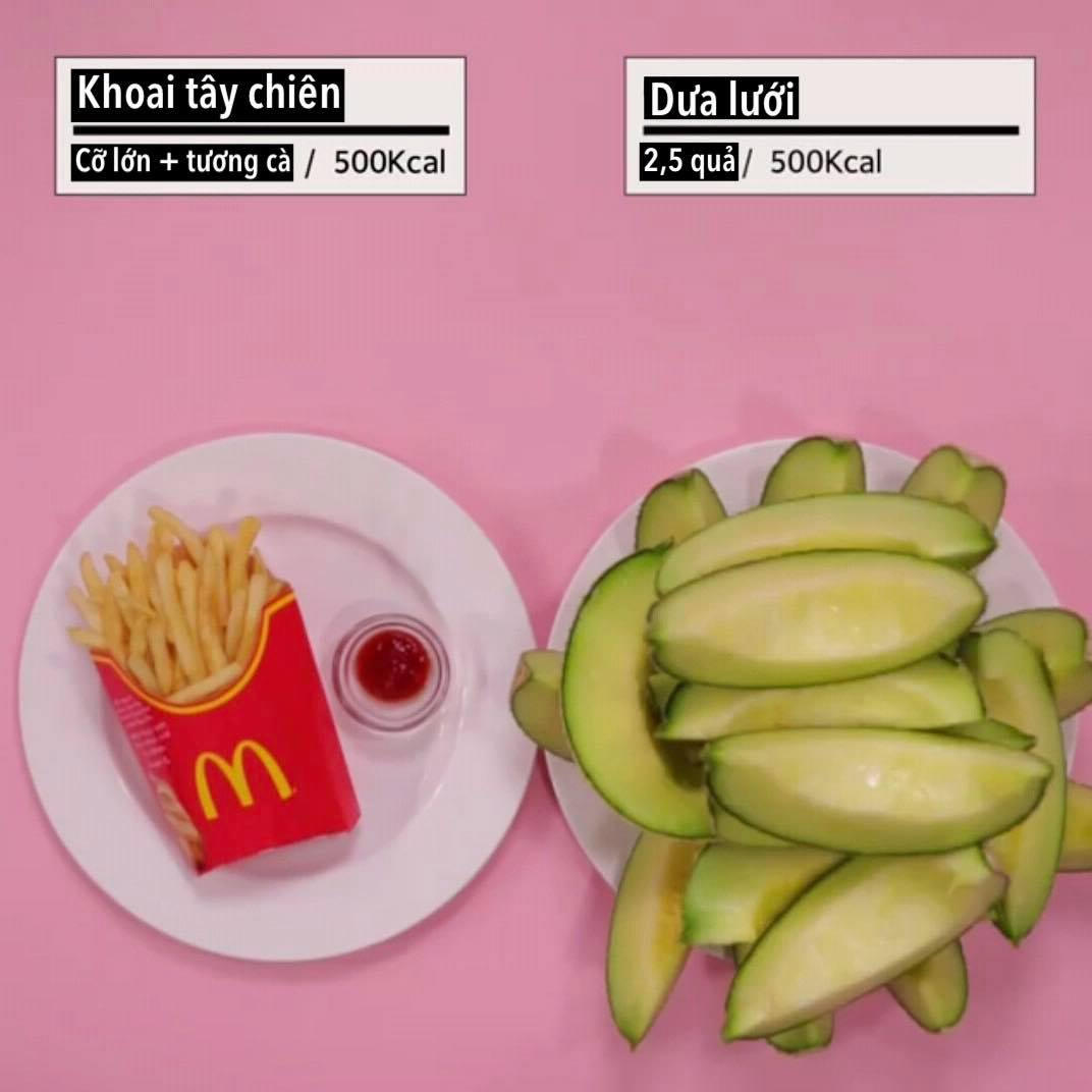 Loạt ảnh quy đổi khiến bạn 'vỡ lẽ' vì sao giảm cân hoài vẫn béo, ăn ít mà vẫn không giảm được cân nào - Ảnh 4