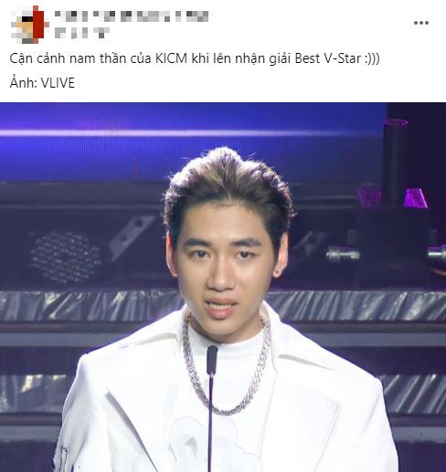 K-ICM ngập tràn trong sự mỉa mai khi thắng giải 'Ngôi sao Vpop xuất sắc nhất 2020': 'Không biết xấu hổ hay gì?' - Ảnh 2