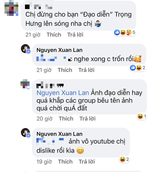 Xuân Lan tố bị Trọng Hưng công kích từ Fanpage đến Youtube sau khi tiết lộ cuộc gọi nghi vấn kể xấu Âu Hà My trên talkshow - Ảnh 2