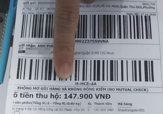 Đặt mua khẩu trang qua mạng, chàng trai Sài Gòn mếu máo khi ngày nhận hàng bóc ra 3 cuộn giấy vệ sinh!? - Ảnh 2