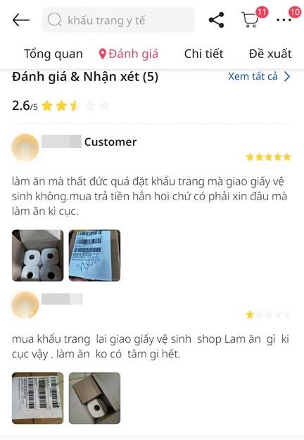 Đặt mua khẩu trang qua mạng, chàng trai Sài Gòn mếu máo khi ngày nhận hàng bóc ra 3 cuộn giấy vệ sinh!? - Ảnh 5