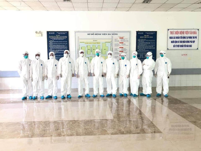 Hình ảnh các y bác sĩ cả nước đến Đà Nẵng, vội vã chống lại Covid-19 gây xúc động mạnh - Ảnh 1