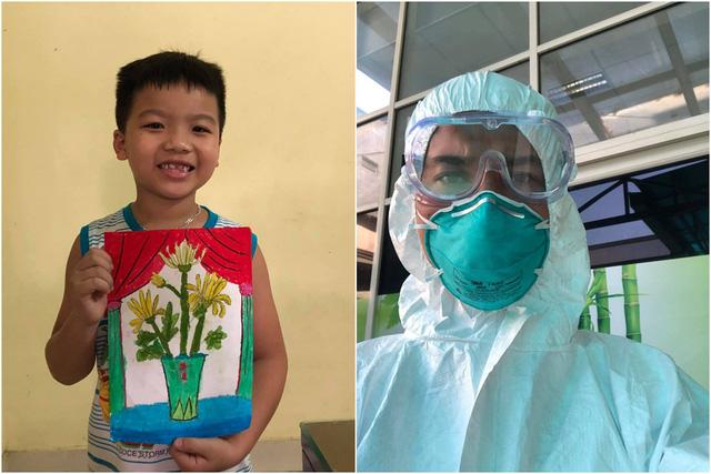 Loạt hình ảnh xúc động về y bác sĩ trước trận chiến mới chống lại Covid-19: Người tạm biệt con ốm vào Đà Nẵng cứu viện, người không ngại cắt phăng mái tóc dài - Ảnh 3