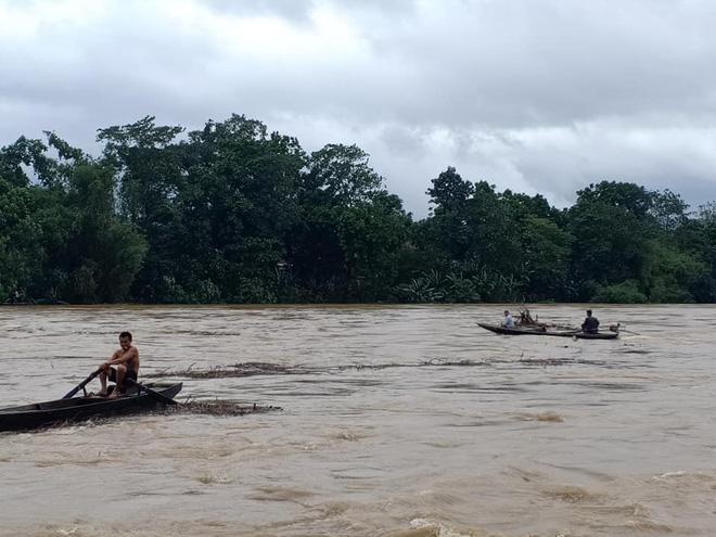 Người dân Hà Tĩnh liều mình vớt củi bất chấp nước sông dâng cao - Ảnh 2