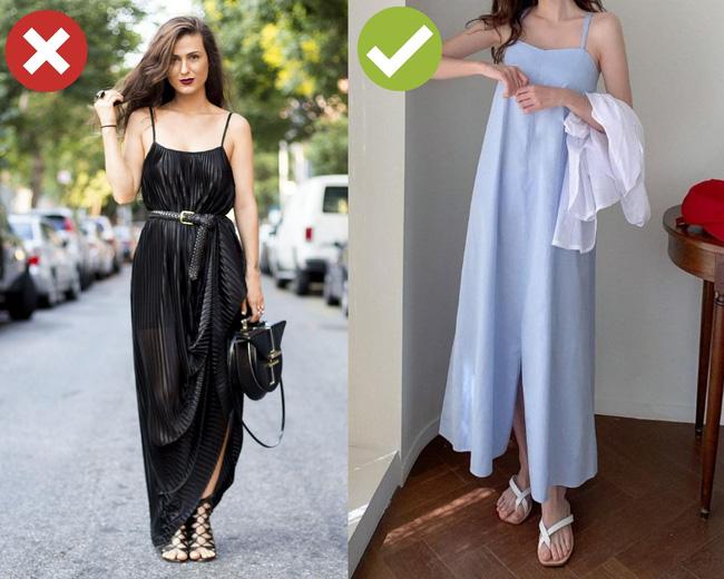 3 cặp giày dép + váy cứ đi với nhau là dễ 'toang' cả set đồ, diện lên bị chê mặc xấu cũng không có gì lạ - Ảnh 2