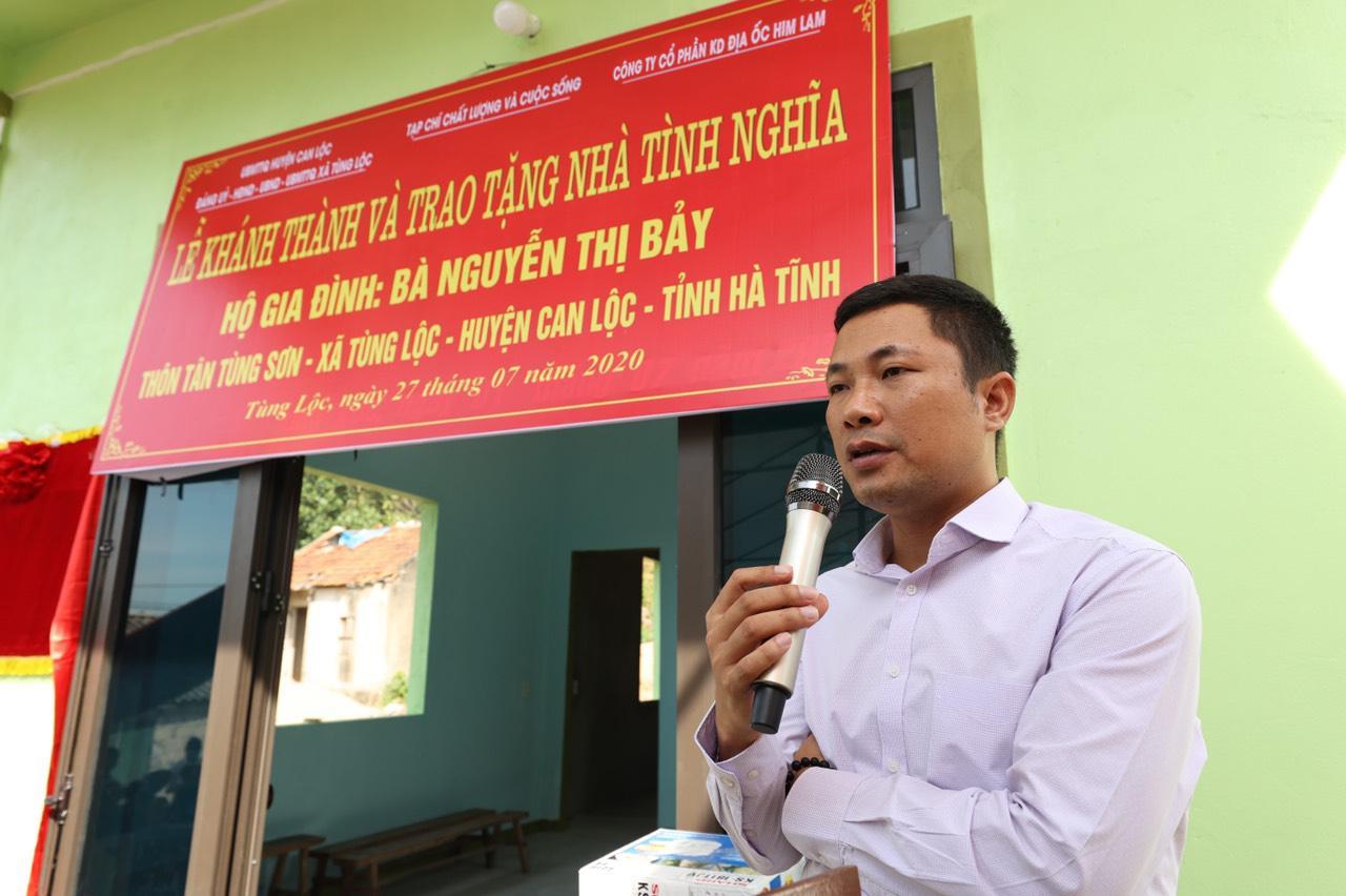 Him Lam Land chung tay trao tặng nhà tình nghĩa cho gia đình liệt sỹ ở Can Lộc, Hà Tĩnh - Ảnh 2