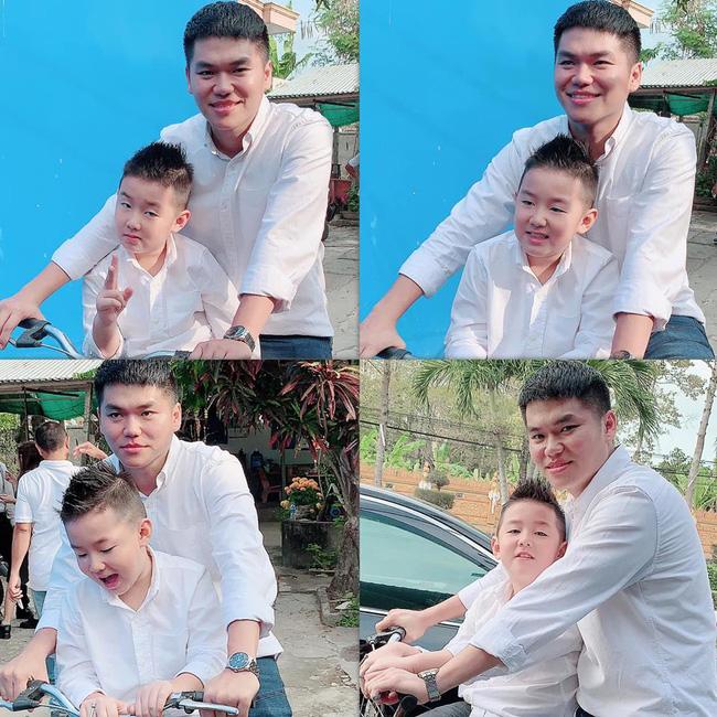 Phản ứng của con sao Việt khi bố mẹ có tình mới: Subeo đầy khoảnh khắc ngọt ngào bên Kim Lý và Đàm Thu Trang, bất ngờ nhất là chia sẻ của con trai Chi Bảo - Ảnh 8