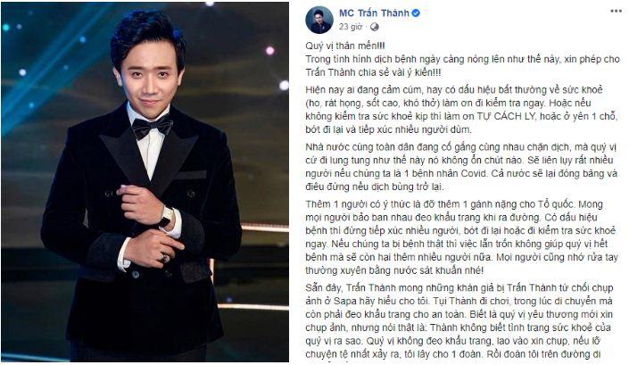 Sao Việt chung tay ủng hộ đất nước, kêu gọi fan nâng cao ý thức chống dịch Covid-19 - Ảnh 1
