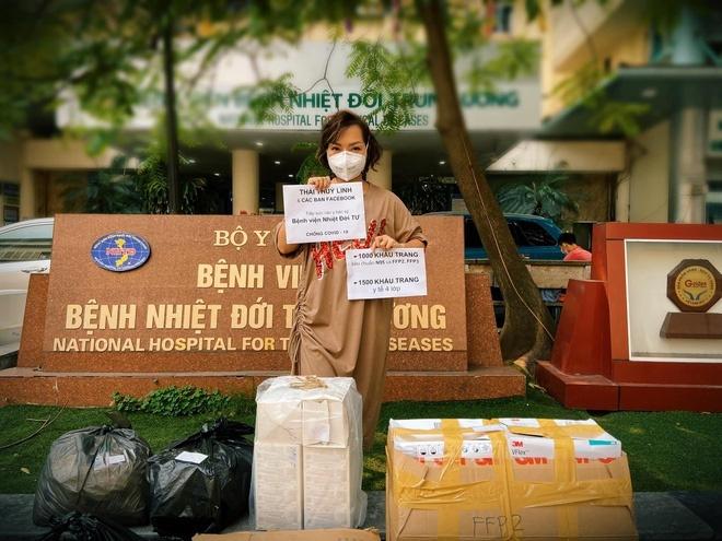 Sao Việt chung tay ủng hộ đất nước, kêu gọi fan nâng cao ý thức chống dịch Covid-19 - Ảnh 2