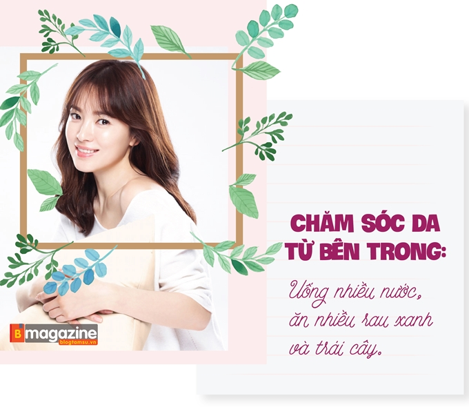 Bí kíp sở hữu mặt mộc vạn người mê như Song Hye Kyo - Ảnh 2