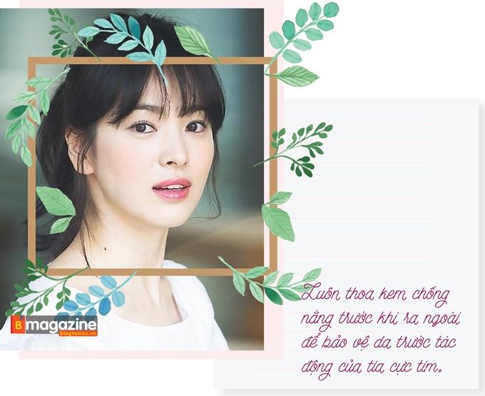 Bí kíp sở hữu mặt mộc vạn người mê như Song Hye Kyo - Ảnh 5