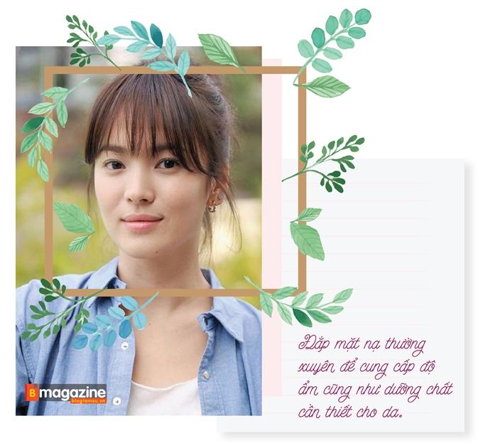 Bí kíp sở hữu mặt mộc vạn người mê như Song Hye Kyo - Ảnh 7