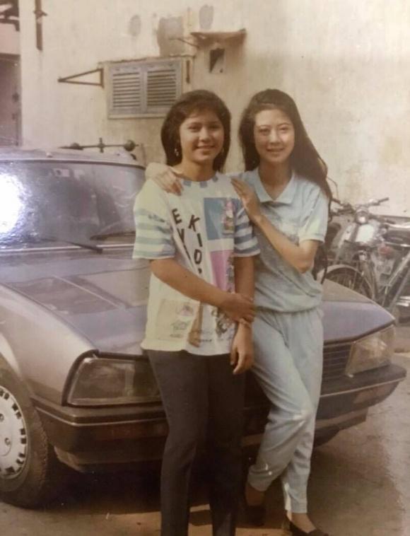 Diễn viên Việt Trinh khoe ảnh thời chưa 'dậy thì thành công' - Ảnh 4
