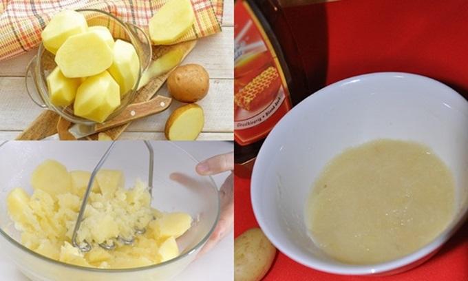 1 củ khoai tây – 3 cách khiến mắt thâm đen như gấu trúc sẽ vĩnh viễn ra đi chỉ sau 1 đêm, mẹo hay tiếc gì không thử - Ảnh 3