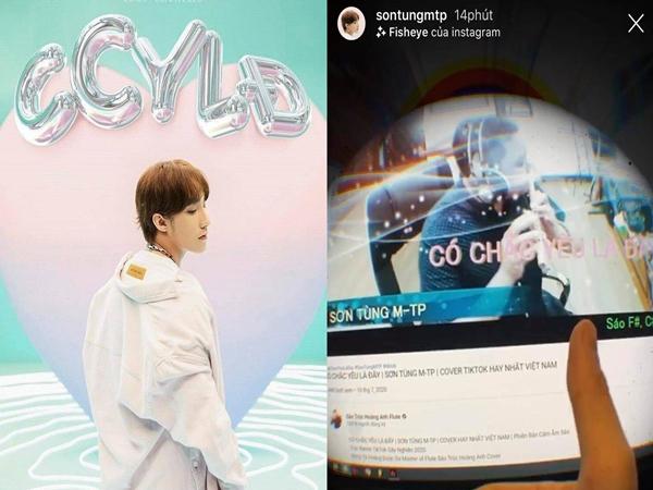 """Bản cover """"Có Chắc Yêu Là Đây"""" bằng sáo trúc có gì hay mà khiến Sơn Tùng khoe lên instagram và dành hết lời ngợi khen đến thế?"""