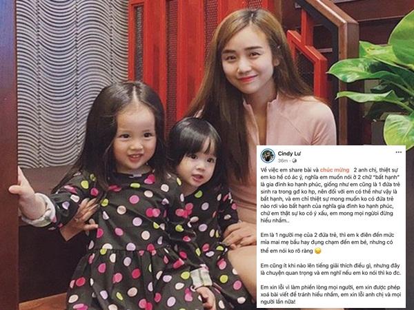 Bị chỉ trích gửi lời chúc kém duyên đến con đầu lòng của Đông Nhi, vợ cũ Hoài Lâm phản ứng ra sao?