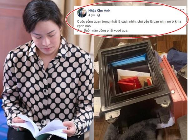 Bị trộm lấy hết của cải, Nhật Kim Anh liên tục trấn an bản thân, ai đọc cũng xót xa thay
