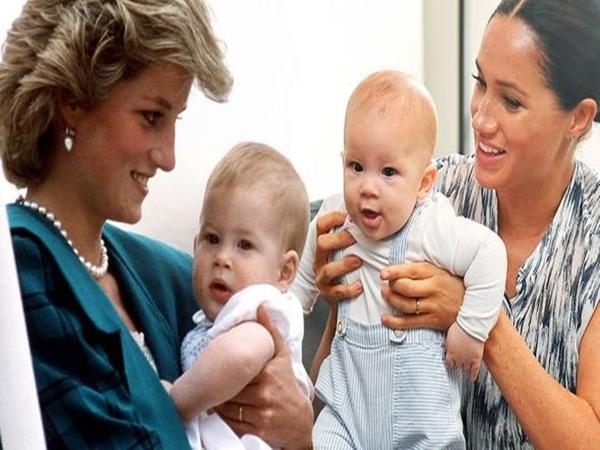Biến con trai Archie thành đứa trẻ gặp khó khăn trong vấn đề giao tiếp, Meghan Markle xấu hổ khi cộng đồng mạng nhắc tới Công nương Diana