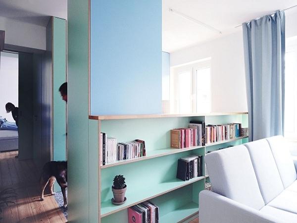 Cải tạo căn hộ chung cư 55m2 tồi tàn thành không gian hiện đại