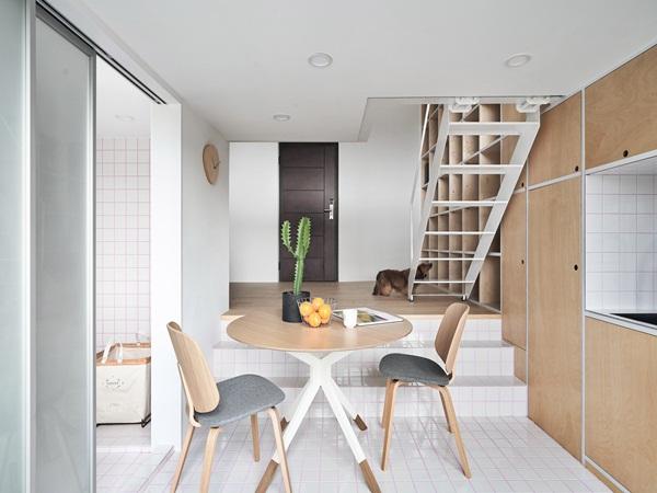 Căn hộ rộng 33m² siêu ấn tượng từ cách thiết kế đến bài trí nội thất