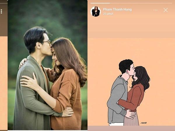 Chỉ đăng hai bức ảnh ngọt ngào, Thanh Hằng bị fan chỉ ra bằng chứng hẹn hò Hà Anh Tuấn?
