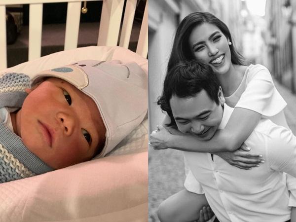 Chồng Lan Khuê lần đầu khoe cận mặt con trai đầu lòng, hé lộ chi tiết bất ngờ