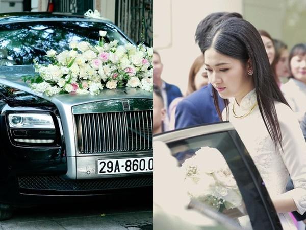 """Chú rể đại gia, hơn 16 tuổi dùng xe sang 30 tỷ đón Á hậu Thanh Tú """"về dinh"""""""