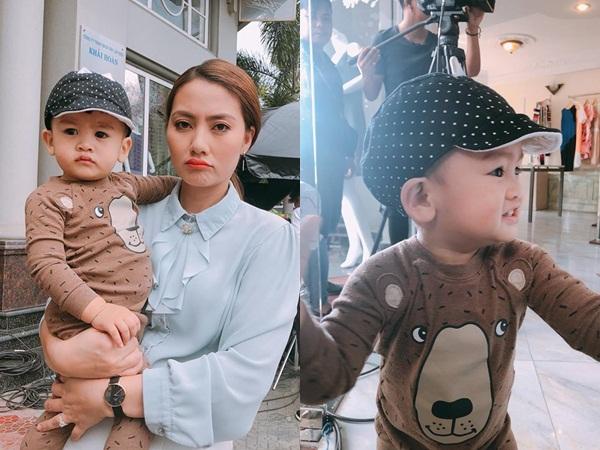 Chưa đầy 2 tuổi, 'hoàng tử' nhà Ngọc Lan – Thanh Bình đã đẹp trai như soái ca