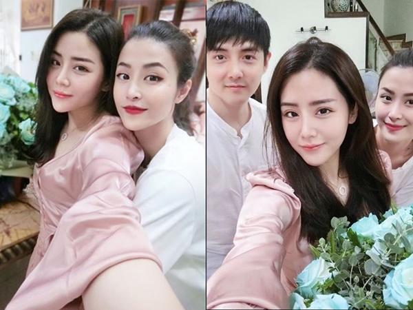 Chụp ảnh với em gái, gương mặt Đông Nhi và Ông Cao Thắng bỗng nhiên khác lạ