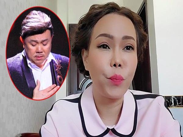 Clip Việt Hương phẫn nộ khi vợ NS Chí Tài bị mạo danh lừa đảo hơn 100 triệu trong lúc tang thương