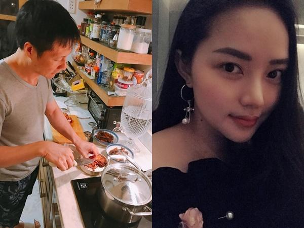 Có chồng đại gia nấu ăn khéo thế này, bảo sao Phan Như Thảo mãi chưa giảm cân