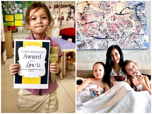 Mới 7 tuổi, con gái Hồng Nhung đã bộc lộ tài năng hơn người, giúp mẹ vơi nỗi đau hôn nhân đổ vỡ