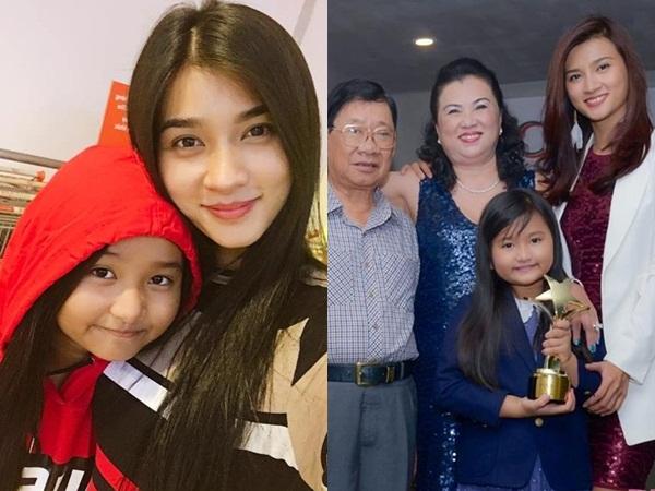 Làm mẹ đơn thân khi mới 22 tuổi, Kim Tuyến nuôi con gái xinh xắn, đáng yêu hơn cả thiên thần