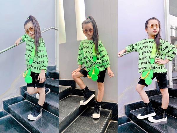 Con gái Ốc Thanh Vân mặc đồ 'chất chơi', mới 7 tuổi đã được ba mẹ cưng chiều muốn gì cũng có