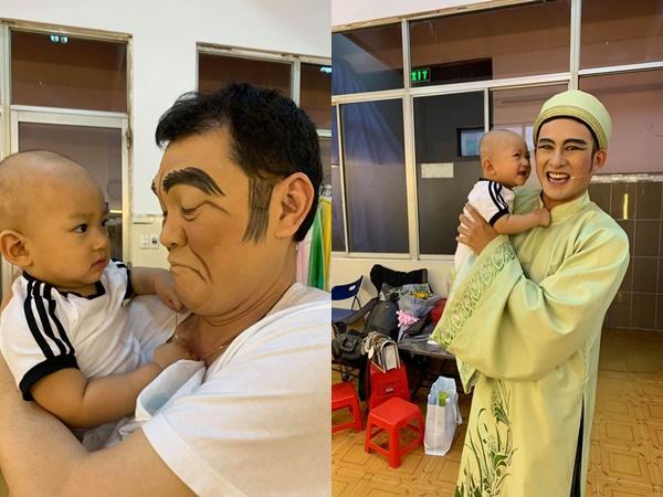Con trai Lương Thế Thành lần đầu theo bố đi diễn, biểu cảm đáng yêu nhưng cái kết mới là điều được chú ý!