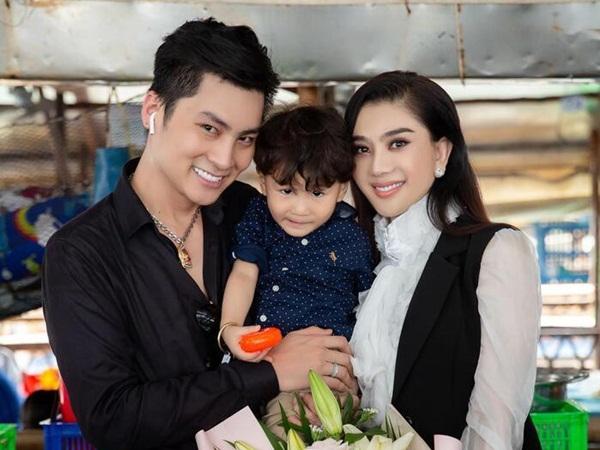 Cùng chồng tổ chức sinh nhật cho con trai, Lâm Khánh Chi tuyên bố sẽ có thêm con vào năm sau