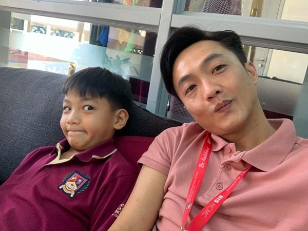 Cường Đô la nhận xét điều bất ngờ khi đi họp phụ huynh cho con trai Subeo