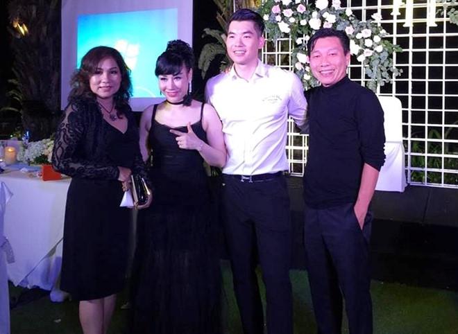 Dàn nghệ sĩ Việt dự lễ cưới của Trương Nam Thành trong đêm Noel