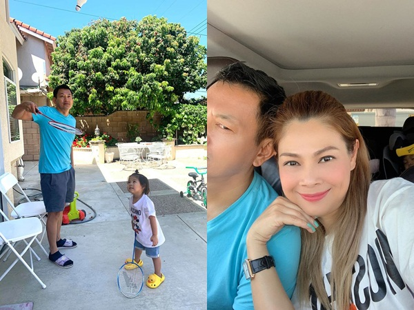 Đăng ảnh tình tứ bên ông xã, Thanh Thảo khoe có số hưởng lấy chồng giỏi nấu ăn lại khéo chăm con