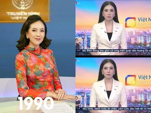 Đang dẫn chương trình thời sự, MC Mai Ngọc bị đau bụng quằn quại