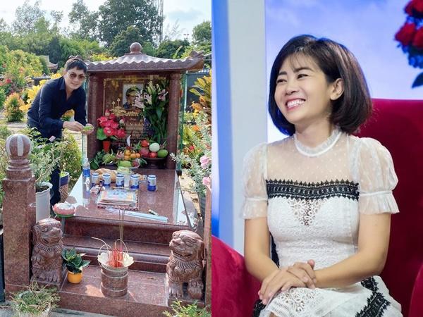Đến thăm mộ Anh Vũ ngày giỗ đầu, Minh Luân xót xa gọi tên Mai Phương