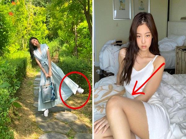 Đi du lịch hay dạo chơi mà bí dáng chụp ảnh thì có thể tham khảo tips của Jennie, hack chân dài mét mốt dễ như bỡn