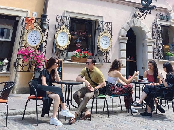 Diễm My 9X du lịch Ba Lan cùng bạn trai doanh nhân