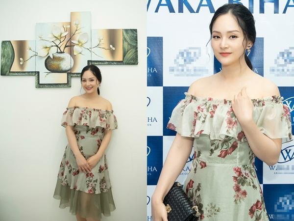 Diễn viên Lan Phương nhận được ít lời mời và ít show hơn kể từ khi sinh con