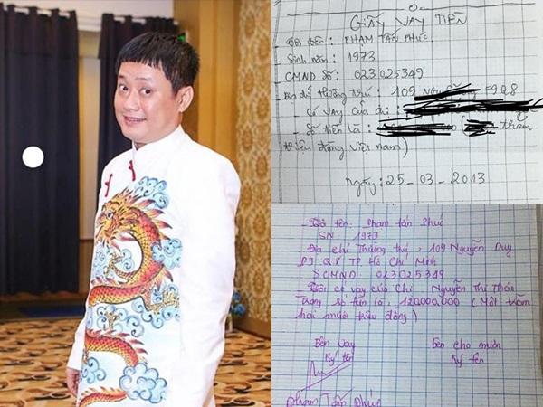 Diễn viên hài Tấn Bo bị tố quỵt tiền, vay nợ hơn 200 triệu 5 năm không trả