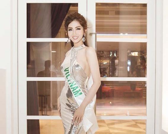 Đỗ Nhật Hà khoe đường cong nữ thần tại Hoa hậu Chuyển giới quốc tế
