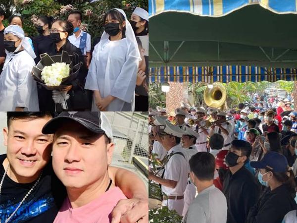 Dõi theo lễ tang Vân Quang Long, Hàn Thái Tú nghẹn ngào: 'Hôm nay mày được nằm tại quê hương thương mến'
