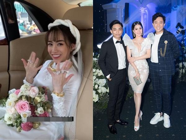Dự đám cưới con gái đại gia Minh Nhựa, Khánh Thi tiết lộ điều gây xúc động nhất trong hôn lễ
