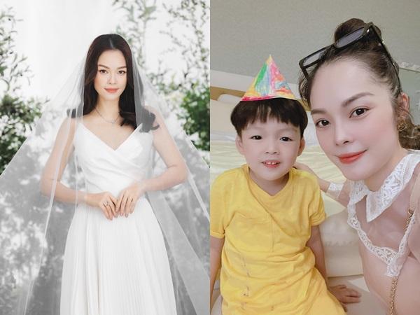 Dương Cẩm Lynh khoe ảnh mặc váy cưới lung linh, úp mở chuyện sắp cưới lần 2?