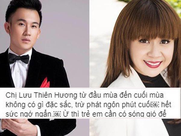 Dương Triệu Vũ chỉ trích Lưu Thiên Hương phát ngôn ngớ ngẩn